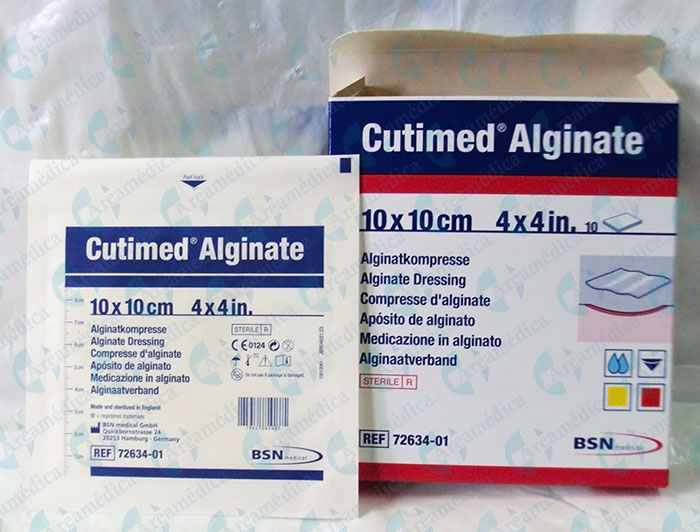 Aposito Cutimed Alginate Aliginato 10X10cm