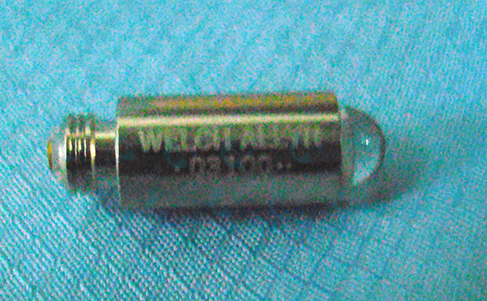 BOMBILLO 03100 ORL 3.5V HALOGENO WELCH ALLYN PARA OTOSCOPIOS SERIES 20000